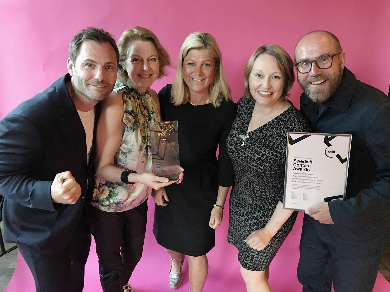 Byn vinner Swedish Content Award