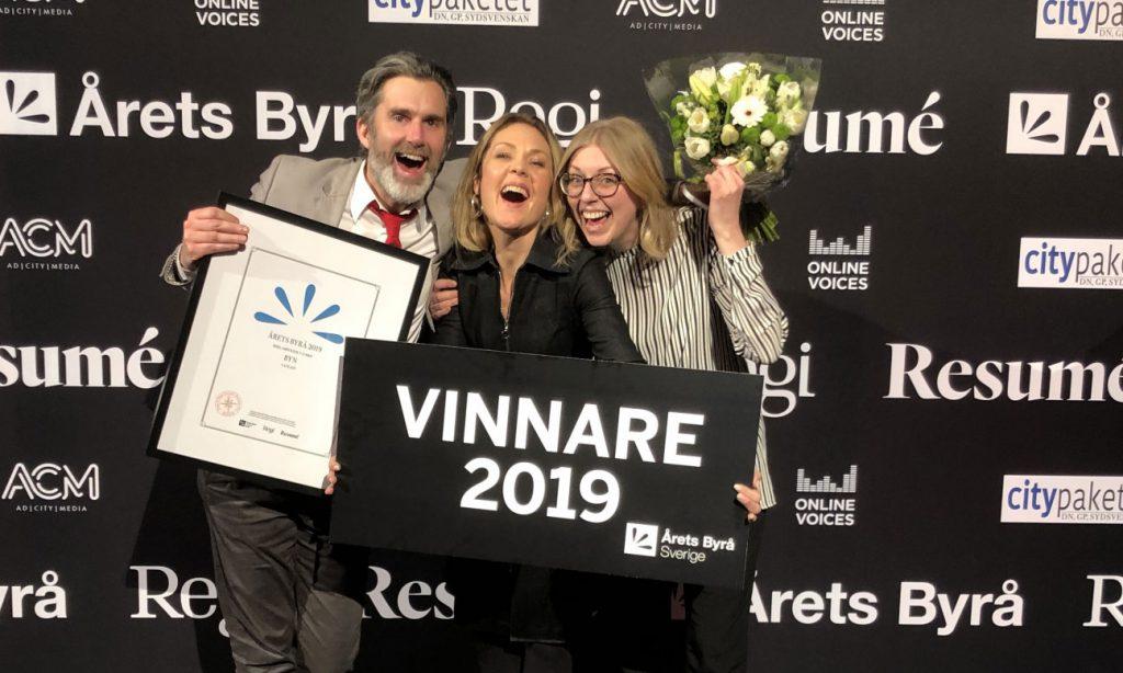 Byn vinner Årets Byrå