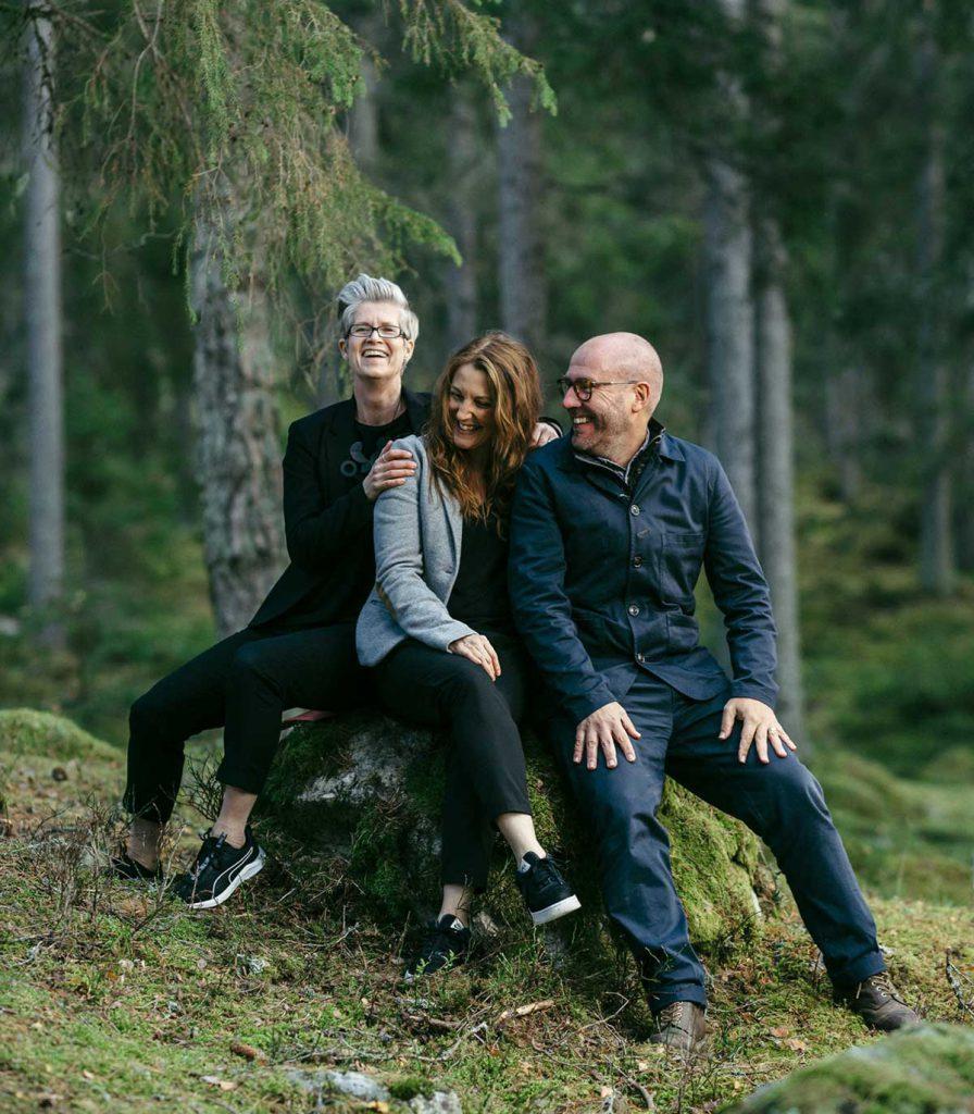 De tre grundarna till Byn - En strategisk reklambyrå i Norrköping
